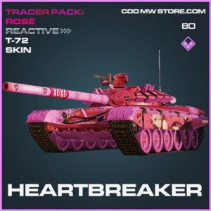 Heartbreaker T-72 tank skin in Cold War