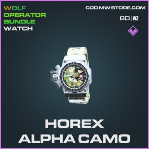 Horex Alpha Camo watch in Cold War and Warzone