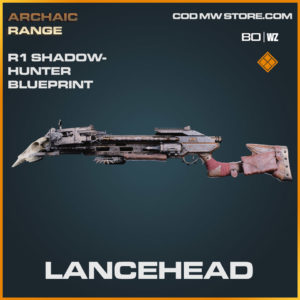 Lancehead R1 Shadowhunter blueprint skin in Cold War and Warzone