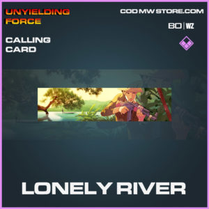 Lonely River calling card in Cold War and Warzone