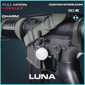 Luna charm in in Cold War and Warzone