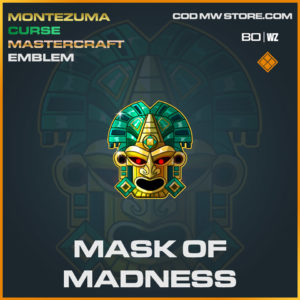 Mask of Madness emblem in Cold War and Warzone
