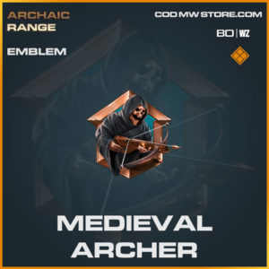 Medieval Archer emblem in Cold War and Warzone