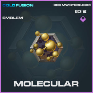 Molecular emblem iin Cold War and Warzone