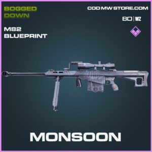 Monsoon M82 blueprint skin in Cold War and Warzone