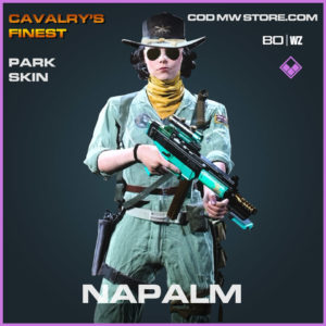 Napalm Park skin in Cold War and Warzone