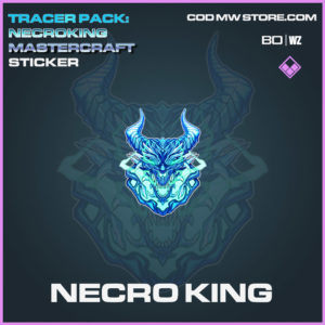 Necro King Sticker in Cold War and Warzone
