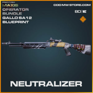 Neutralizer Gallo SA12 blueprint skin in Cold War and Warzone