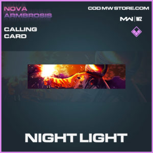 Night Light calling card in in Modern Warfare and Warzone