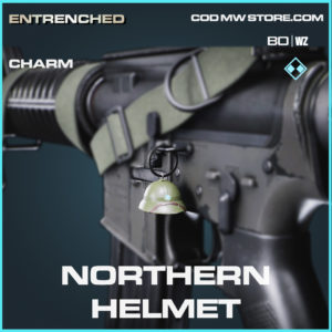 Northern Helmet charm in Cold War and Warzone