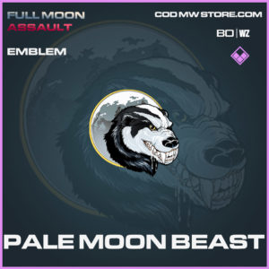 Pale Moon Beast emblem in in Cold War and Warzone