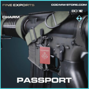 Passport charm in Cold War and Warzone