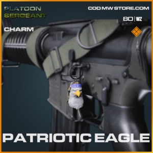 Patriotic Eagle charm in Cold War and Warzone