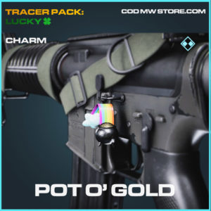 Pot O´ GOld charm in cold war and warzone