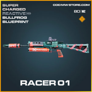 Racer 01 Bullfrog blueprint skin in Cold War and Warzone
