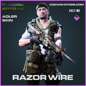 Razor Wire Adler skin in Cold War and Warzone