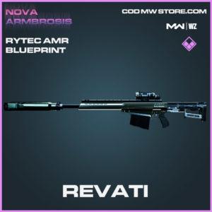 Revati Rytec AMR blueprint skin in Modern Warfare and Warzone
