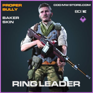 Ring Leader Baker skin in Cold War and Warzone