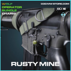Rusty Mine charm in Cold War and Warzone
