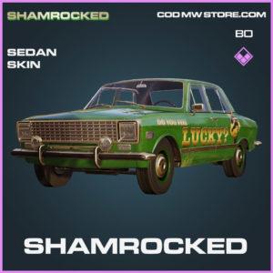 Shamrocked Sedan skin in Cold