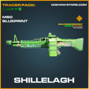 Shillelagh m60 blueprint skin in cold war and warzone
