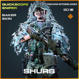 Baker skin in Cold War and Warzone