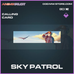 Sky Patrol calling card in Cold War and Warzone