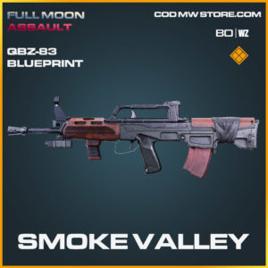 Smoke Valley QBZ-83 blueprint skin in Cold War and Warzone