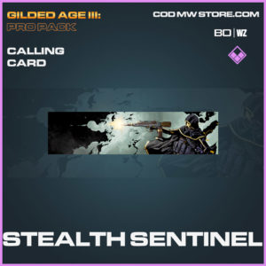 Stealth Sentinel calling card in Cold War and Warzone