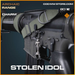 Stolen Idol charm in Cold War and Warzone