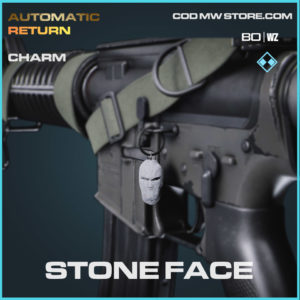 Stone Face charm in Cold War and Warzone