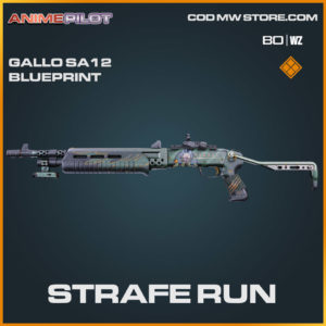 Strafe Run Gallo SA12 blueprint skin in Cold War and Warzone