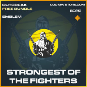 Strongest of the fighters emblem in Cold War and Warzone