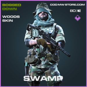 Swamp Woods skin in Cold War and Warzone