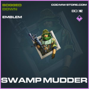 Swamp mudder emblem in Cold War and Warzone