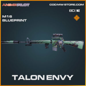 Talon Envy M16 skin blueprint in Cold War and Warzone
