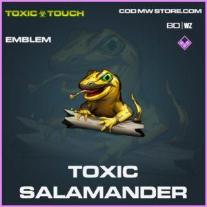 Toxic Salamander emblem in Cold War and Warzone
