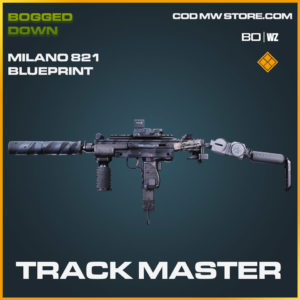 Track Master Milano 821 blueprint skin in Cold War and Warzone