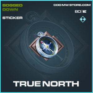 True North sticker rare in Cold War and Warzone
