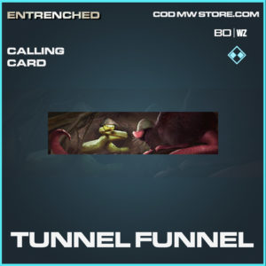 Tunnel Funnel calling card in Cold War and Warzone