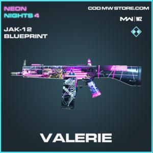 Valerie JAK-12 blueprint skin in Modern Warfare and Warzone