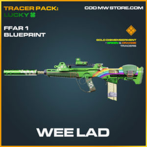 Wee Lad ffar 1 blueprint skin in cold war and warzone