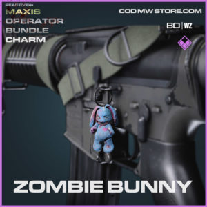 Zombie Bunny charm in Cold War and Warzone