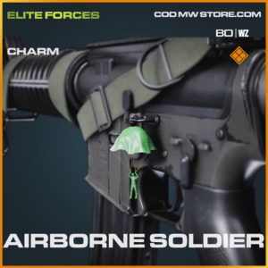 Airborne Soldier charm in Cold War and Warzone