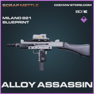 Alloy Assassin Milano 821 blueprint skin in Cold War and Warzone
