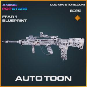 Auto Toon FFAR 1 blueprint skin in Cold War and Warzone