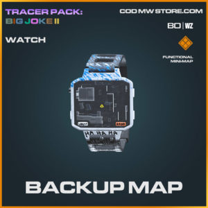 Backup Map watch in Cold War and Warzone