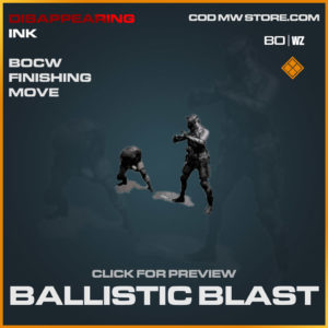 Ballistic Blast Finishing Move in Cold War and Warzone
