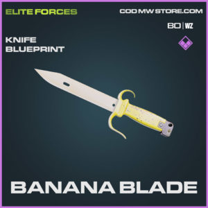 Banana Blade Knife blueprint skin in Cold War and Warzone