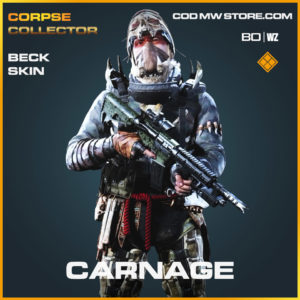 Carnage Beck Skin in Cold War and Warzone